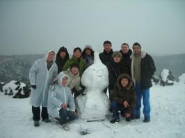 My first snowman !