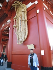 O-waraji at Senso-ji Temple