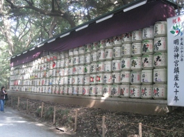 Inside Meiji Shrine