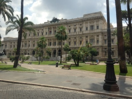 Justice Building at Piazza Cavour