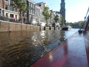 Boat ride through the Canal System